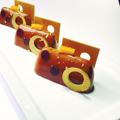 Praline , mango , lemon petit gateaux #bachour #bachoursimplybeautiful   by Pastry Chef Antonio Bachour