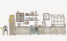 cat & bjørn: Hello kitchen...