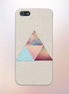 Tweed Geometric Triangles Case for iPhone