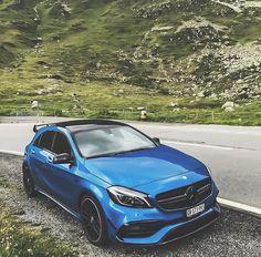 Mercedes Hatchback, Mercedes A45 Amg, Hatchback Cars, Mercedes Car, Peugeot, Custom Mercedes, M Benz, Sweet Cars, Top Cars