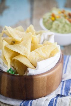 Homemade Corn Tortilla Chips are easy to make!A simple recipe to make your…