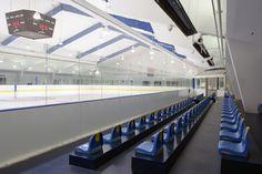 Talbot County Community Center Hockey Rink, Easton, MD.  Hockey mom heaven.  Miss those days.
