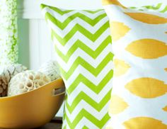I pinned this from the Lemon & Lime - Summer-Hued Pillows, Rugs & Accents event at Joss and Main!