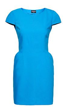 Sarah's Turquoise Amy Dress, available at H & M #FashionStar