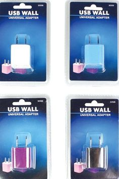 Universal USB Home Charger Case Pack 72
