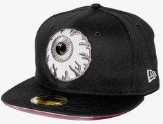 b0e7113d2ab Black Reflective Keep Watch 59Fifty Fitted Cap by MISHKA x NEW ERA Fitted  Baseball Caps