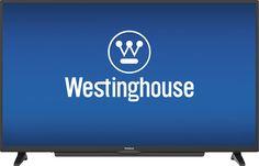 """Westinghouse - 50"""" Class (49.5"""" Diag.) - LED - 2160p - Smart - 4K Ultra HD TV - Black"""