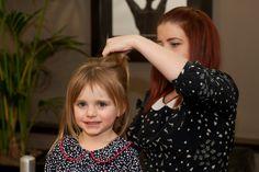 Even the littlest B'maids models get star-treatment!