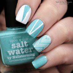 Nail Art By Belegwen: Picture Polish Salt Water