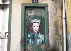 Andrea Michaelsson is a multi-faceted artist better known by her street artist name, Btoy. Btoy primarily began focusing on street art around when her mother passed away. Art Festival, Famous Portraits, Artist Life, Iconic Women, Silent Film, Street Artists, Artist Names, Banksy