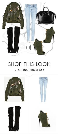 """Untitled #45"" by jk-jednacurica on Polyvore featuring J Brand, Dorothy Perkins and Givenchy"