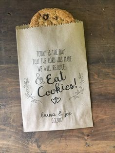 A personal favorite from my Etsy shop https://www.etsy.com/listing/472403780/wedding-favor-bags-christian-wedding