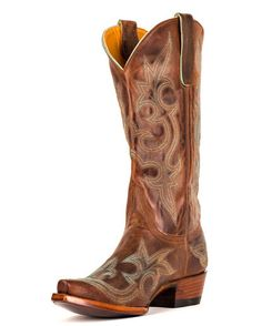 Might have already oinned it but i think these are the ones!!        Women's Diego Boot - Rust/Turquoise