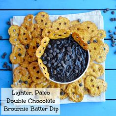 Lighter Brownie Batter Dessert Dip