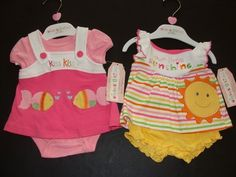 Gorgeous Baby Girl CLOTHES, All Brand NEW, Baby Shower gift! 0-3-6mo