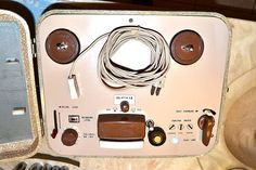 SONY 101 PORTABLE MONAURAL TAPE RECORDER PRO SERVICED 7 inch OPEN REEL-TO-REEL #Sony