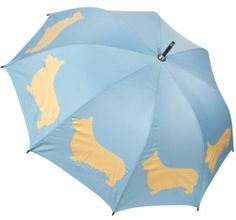 Amazon.com: Welsh Corgi Dog Silhouette Rain Umbrella: Clothing