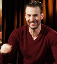 Chris Evans gif - Visit to grab an amazing super hero shirt now on sale!