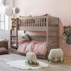 The perfect room setting for twins from French Website  Am.Pm  claradeparis.com ♥