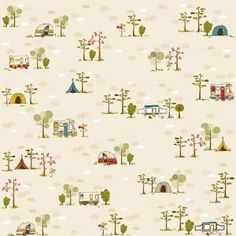 happy camper scrapbook paper..(amazon)