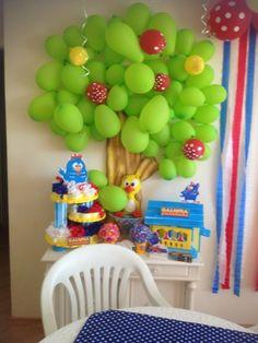 festa Gabriel 1 ano by Galinha Pintadinha