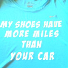 "Only I would say ""My feet."" because I change my shoes often. Athletic Girls, Athletic Clothes, Athletic Outfits, Athletic Wear, Fitness Fun, Fitness Gear, Country Girl Shirts, I Love To Run, Haha So True"