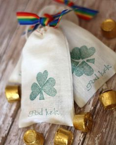 Bag Of Gold St. Patrick's Day Treats for Kids