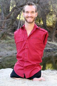 """""""They always said 'You can either be angry for what you don't have, or be thankful for what you do have. Do your best, and God will do the rest.' Because I gave my life to the Lord Jesus Christ, and the renewing of my mind, I knew that I could be unstoppable."""" -- Nick Vujicic of his parents"""