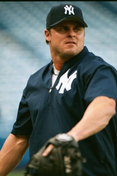 PBI's invite trip to Yankee Stadium in August 2002.  NYY 1B/DH Jason Giambi.