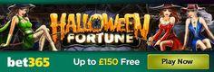Online Casino Suite Brasil desejam a todos um Happy Halloween e apostas no Bet365