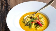 Polievky - Page 3 of 7 - Recepty Kulinárium Thing 1, Wok, Thai Red Curry, Ethnic Recipes, Hokkaido