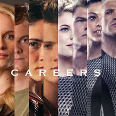 I love the careers <3 i mean if YOU have to go into the Arena and you're best Chance to survive is to be a career don't you want to be One?