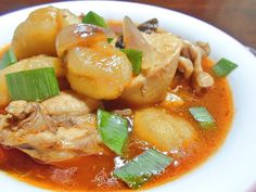 Royal Domesticity: Chicken and Cardaba Stew