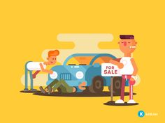 Setting car for sale. Automobile inspection before purchase. After Effects animation Motion Design, Owl Bathroom Decor, Wall Decor Amazon, Gif Collection, Animation, Cute Gif, Motion Graphics, Game Design, Animated Gif