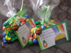 365 DAYS OF PINTEREST CREATIONS: day 280: treat bags for st patrick's day