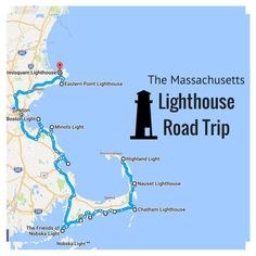 The Lighthouse Road Trip On The Massachusetts Coast That's D.- The Lighthouse Road Trip On The Massachusetts Coast That's Dreamily Beautiful - East Coast Travel, East Coast Road Trip, Road Trip Usa, New England States, New England Travel, Fall In New England, Disney Worlds, Oh The Places You'll Go, Places To Travel