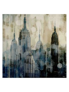 Empire by Parvez Taj (Canvas) from Large-Scale Art on Gilt