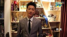 Han Geng at home