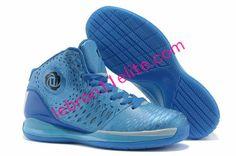 Buy Glass Blue Adidas Adizero Rose 3,Derrick Rose Shoes 2013 Navy G48890 With $64.34[50% Off Lebron 11 Elite 437] | Adidas Adizero Rose 3