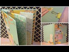 Cómo hacer un Miniálbum de sobres/ Mini envelopes album