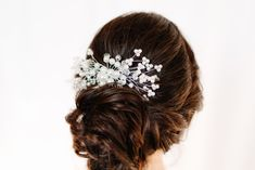 hair: @leahthehairartist Bridal Updo, Updos, Long Hair Styles, Beauty, Instagram, Up Dos, Long Hairstyle, Long Haircuts, Party Hairstyles