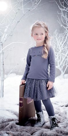 Mini kid fille - Collection hiver 2015