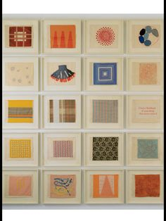 Louise Bourgeois - Ode à L'Oubli ( 2002) | Framed Textile Art (detail)