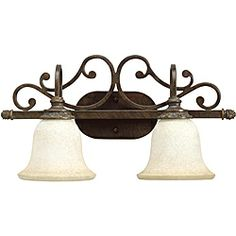 Aztec Lighting Traditional 2-light Golden Bronze Wall Sconce $53