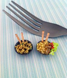 Miniature Noodles by KrystalsTinyCakery.deviantart.com on @deviantART