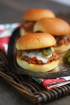Smoked Chipotle Joes Sliders are an easy recipe to make for game day ...