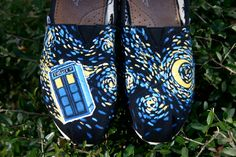 Dr. Who Rocks Starry Night.