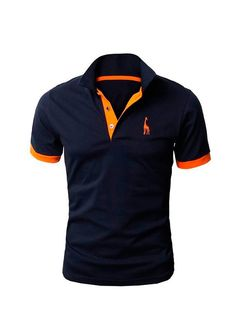 Kit com 5 Camisas Polo Giraffe - Cinza, Azul Escuro, Branca, Vermelha e Preta - Compre Aqui | MODEI