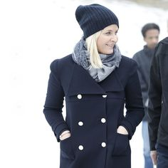 Princess Mette-Marit and Prince Haakon visited Torshov