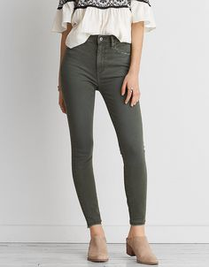 AEO DENIM X SUPER HI-RISE JEGGING